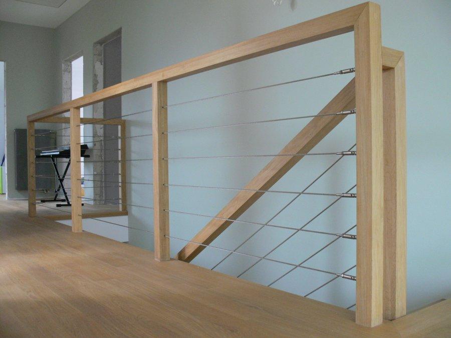 Wypełnienie balustrady linami poziomymi - System PP